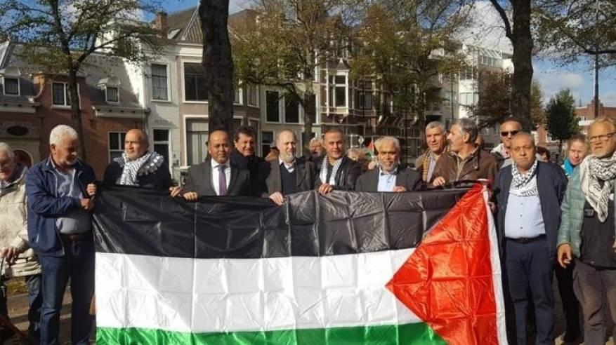الجالية الفلسطينية في هولندا تؤكد دعمها الكامل للرئيس
