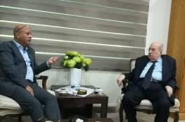الزعنون يلتقي د. أبو هولي لبحث التحرك على مستوى الاتحادات البرلمانية لدعم تجديد تفويض الاونروا