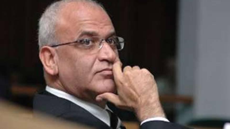 عريقات يشارك في المؤتمر العربي لتعزيز التضامن ومواجهة التحديات بالقاهرة