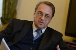 بوغدانوف يؤكد دعم روسيا لمبادرة الرئيس عقد مؤتمر دولي للسلام