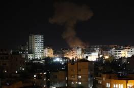 3 شهداء في قصف إسرائيلي على قطاع غزة والعدوان الاسرائيلي لا يزال متواصلا