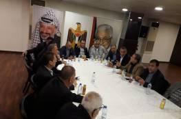 اللجان الشعبية في لبنان تلتقي وفد من المكتب التنفيذي للجان الشعبية القادم من ارض الوطن