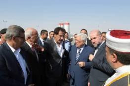 الرئيس يصل محافظة اريحا والاغوار للقاء فعاليات المحافظة وافتتاح عدة منشآت في جامعة الاستقلال