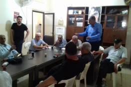 غنومي : لمتابعة وقف الاجراءات الظالمة بحق العمال الفلسطينيين في لبنان .