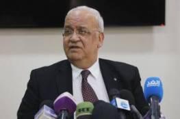 عريقات: يجب إنهاء الانقسام لمواجهة المخططات الخطيرة التي تنفذ ضد القضية الفلسطينية