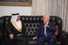 الرئيس يؤكد لمبعوث ملك البحرين: لن نشارك في ورشة العمل الأميركية في المنامة