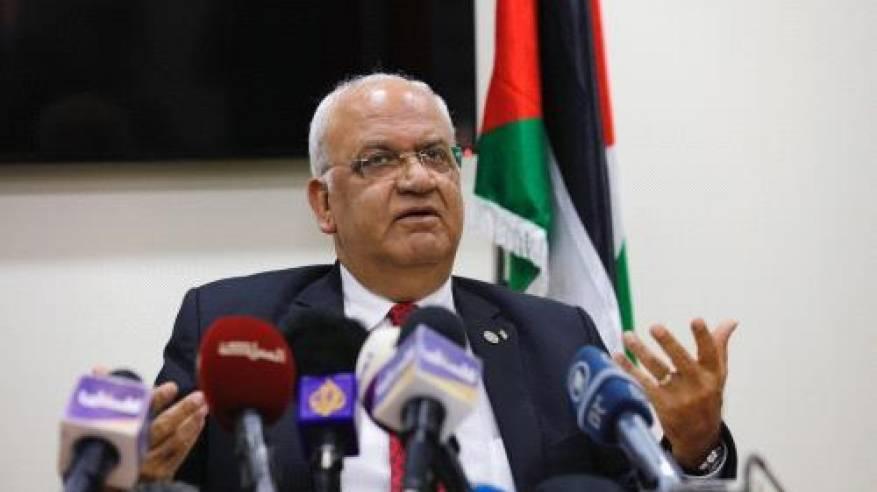 عريقات يطلع وفداً أكاديمياً أميركياً ودولياً على الأوضاع في دولة فلسطين