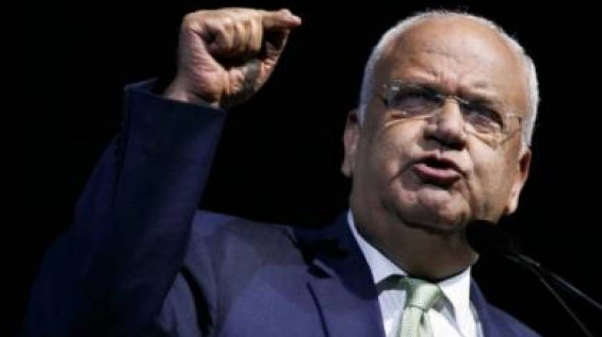 عريقات يرحب بإصدار قائمة الشركات العاملة بالمستوطنات: انتصار للحق الفلسطيني وللقانون الدولي
