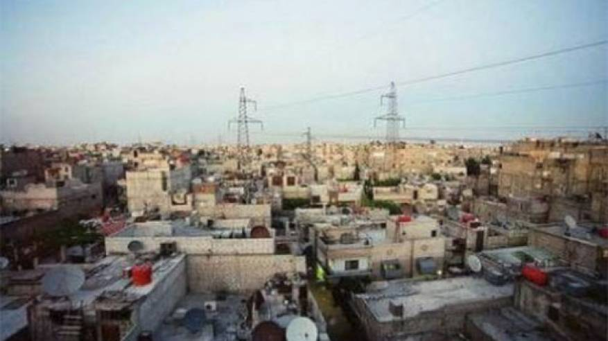 مخيم الحصن للاجئين الفلسطينيين