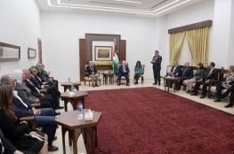 الرئيس يستقبل أعضاء اللجنة التنفيذية للاتحاد الدولي للصحفيين