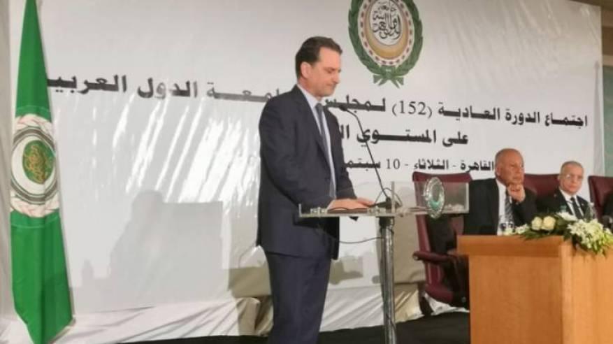 كلمة السيد بيير كرينبول المفوض العام في مجلس جامعة الدول العربية