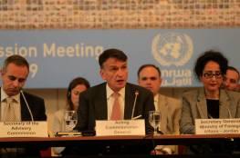 الأونروا تناشد الحصول على التمويل في اجتماع اللجنة الاستشارية
