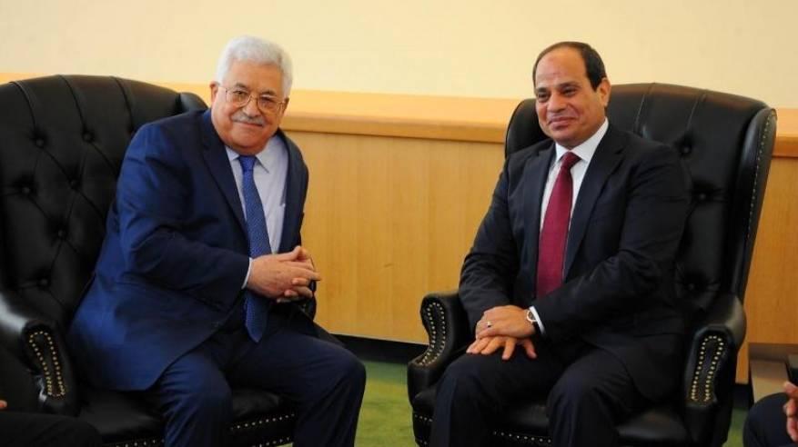 الرئيس يعزي نظيره المصري بضحايا الهجوم الارهابي على حافلة مدنية في صعيد مصر