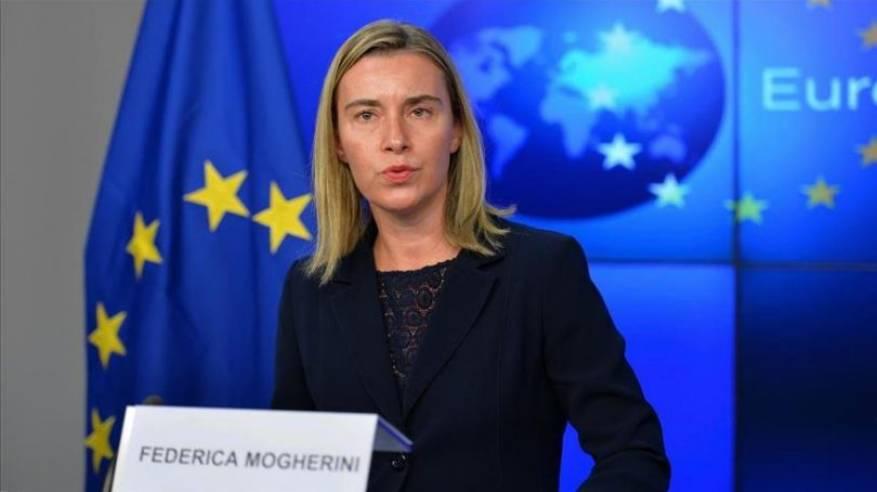 موغيريني رفضت دعوة إسرائيل لإلغاء اللقاء بوفد المشتركة