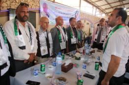 د. ابو هولي يستقبل بعثة مركز شباب بلاطة الرياضي القادم الى قطاع غزة