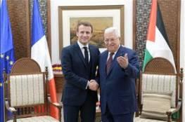 الرئيس يستقبل نظيره الفرنسي