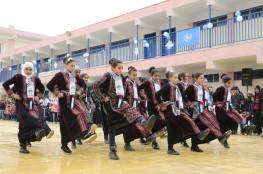 الأونروا تفتتح مدرسة جديدة في مخيم درعا للاجئين