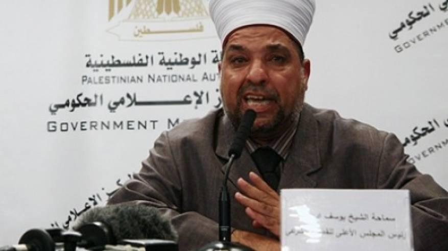 ادعيس: ما يجري في الأقصى استخفاف بمشاعر المسلمين واستهانة بقيمهم الدينية