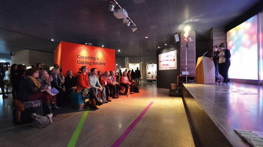 الجالية الفلسطينية في هولندا تشارك في أسبوع التصميم الهولندي