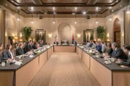 العاهل الأردني يدعو لتكثيف الجهود للتوصل إلى سلام عادل على أساس حل الدولتين