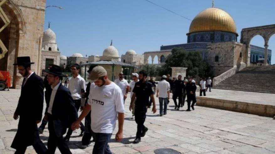 46 مستوطنا يقتحمون المسجد الأقصى
