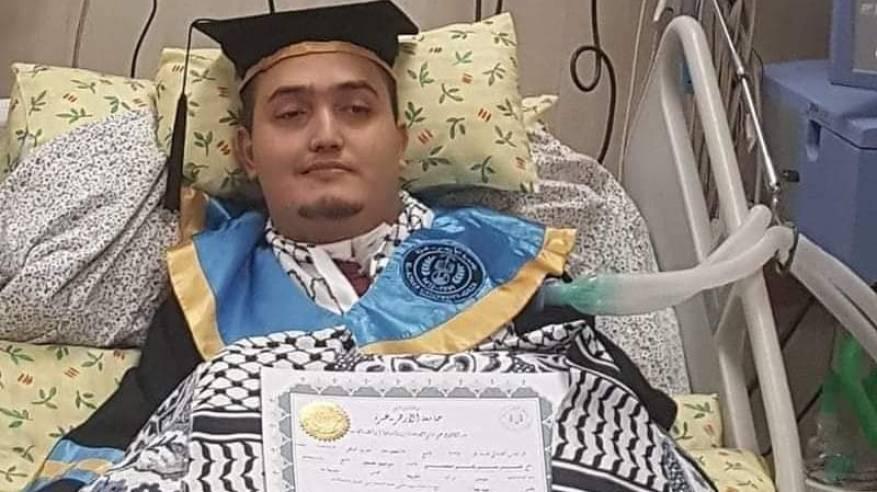 د . أبوهولي : ترجل الفارس ( ناصر البحيصي ) قبل ان نحتفي بتخرجه الجامعي