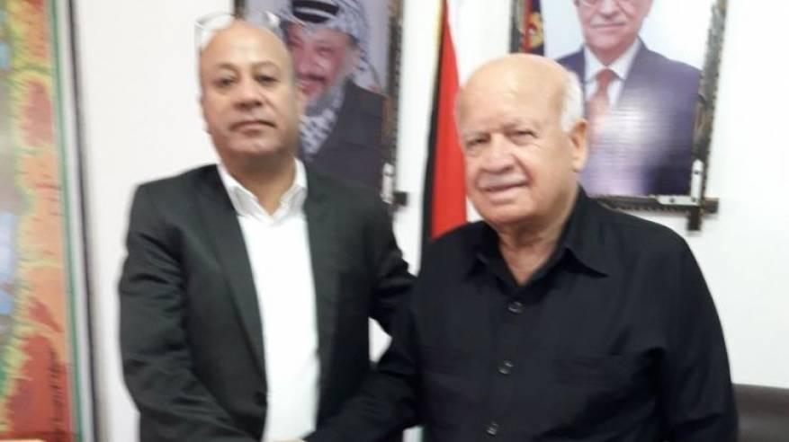 د. أبو هولي يتسلم منصبه رئيساً لدائرة شؤون اللاجئين في منظمة التحرير الفلسطينية