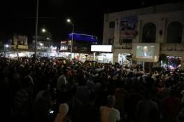 آلاف من أبناء شعبنا يحتشدون في بيروت دعماً للرئيس