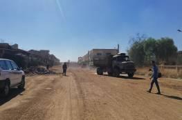 فتح الطرق المؤدية إلى مخيم اللاجئين الفلسطينيين بدرعا