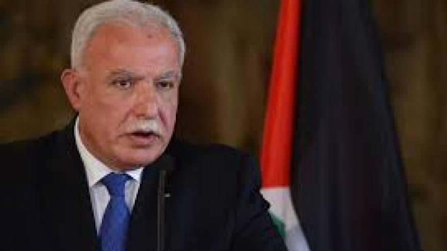 المالكي: إسرائيل تريد تقويض القضية الفلسطينية لأنها الاختبار الأكبر للشرعية الدولية