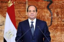 السيسي يؤكد موقف مصر الثابت بالتوصل لحل عادل وشامل يضمن حقوق الشعب الفلسطيني