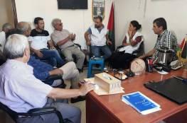 اللجان الشعبية في مخيم عين الحلوة تلتقي منظمة أطباء بلا حدود