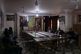 اللجنة الشعبية للاجئين بمخيم الشاطئ تختتم ورشة العمل التدريبية للجنة الطوارئ
