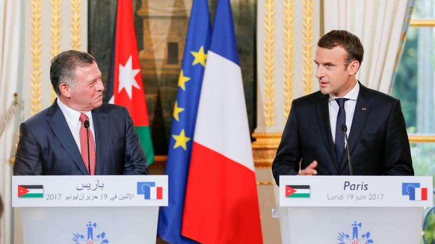 العاهل الأردني يؤكد ضرورة تكثيف الجهود الدولية لتحقيق السلام العادل والدائم وفق حل الدولتين