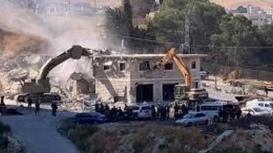 تقرير: عمليات هدم غير مسبوقة شهدتها القدس آب الماضي