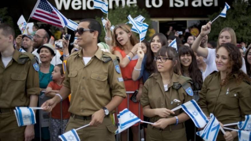 انخفاض عدد المهاجرين اليهود من الدول الغربية لإسرائيل