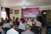 اللجنة الشعبية بمخيم الشاطئ تقيم ورشة سياسية بعنوان ( ورشة المنامة وصفقة القرن )