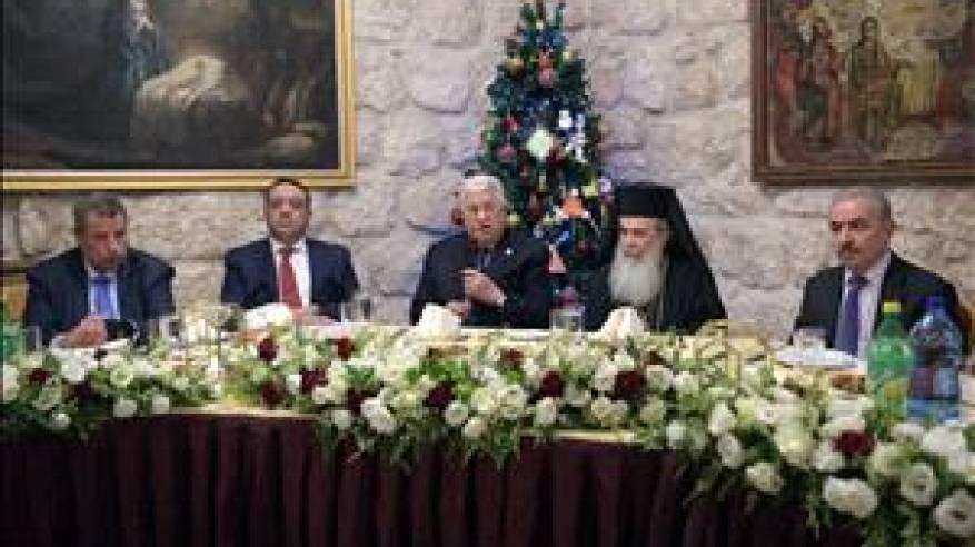 الرئيس يطالب العالم بالضغط على اسرائيل من اجل إجراء الانتخابات