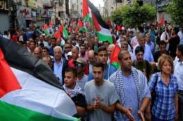 """""""القوى"""" تدعو لأوسع مشاركة في مسيرة الثلاثاء رفضا لمشاريع الاحتلال التصفوية"""