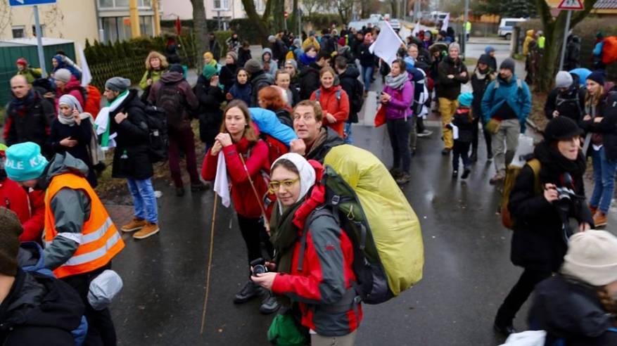 مسيرة تضامنية مع شعبنا في اوسلو
