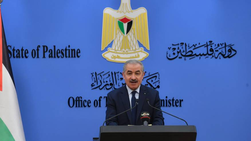رئيس الوزراء يطالب بالضغط على إسرائيل للسماح بمشاركة أهلنا في القدس بالانتخابات