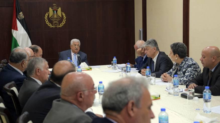اللجنة التنفيذية لمنظمة التحرير تؤكد رفضها المطلق لمشروع فصل القطاع عن الضفة والقدس