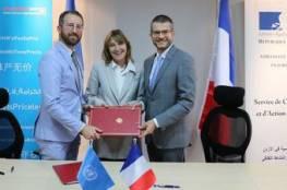 فرنسا تدعم الأونروا بمبلغ 20 مليون يورو