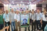 اللجنة الشعبية بالشاطئ تكرم عدداً من عائلات رجال الإصلاح والمخاتير