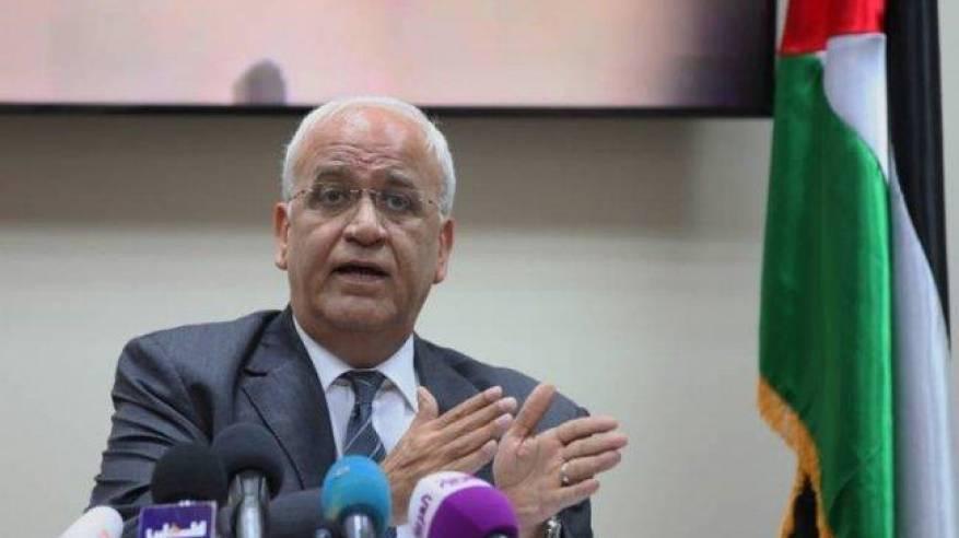 عريقات: لم ولن نفوّض أي أحد بالتفاوض عنا كشعب فلسطيني