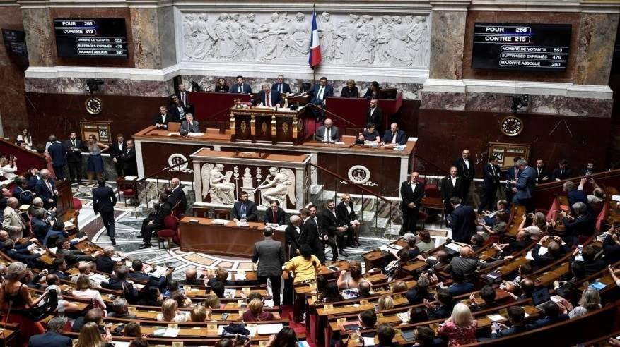120 برلمانيا فرنسيا يرفضون خطة الضم ويطالبون ماكرون بالاعتراف بالدولة الفلسطينية