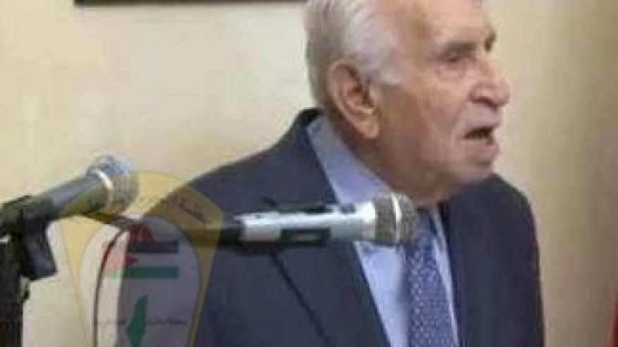 د. ابو هولي: ينعى المناضل الوطني محمد زهدي النشاشيبي