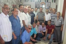 اللجان الشعبية في منطقة صيدا تستقبل ممثلي اللجان الشعبية في محافظة جنين