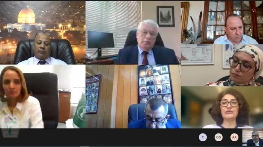 د. أبو هولي مؤتمر المشرفين يؤكد ما يجري في القدس وأحيائها على يد الاحتلال تطهير عرقي وتهجير قسري يرقى لجرائم حرب