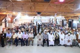 اللجنة الشعبية للاجئين بخانيونس تنظم ندوة سياسية بعنوان ( تفويض الأونروا و حق العودة)